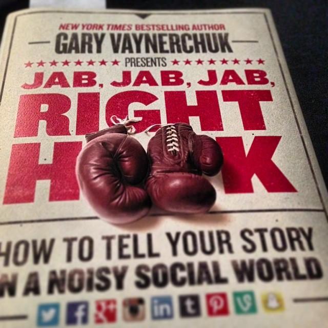 Jab Jab Jab Right Hook A Refreshing Read On Social Media Digital