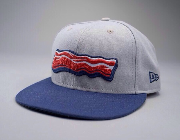 Bacon Cap from the Lehigh Valley Iron Pigs