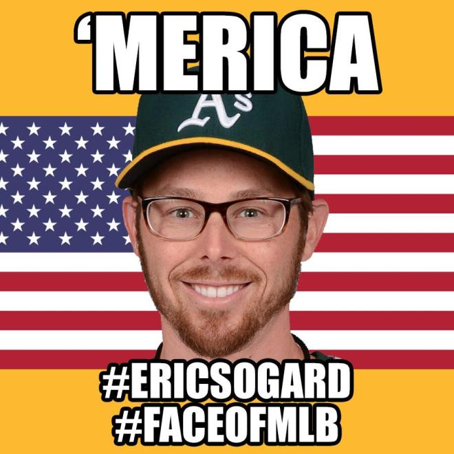 #FaceOfMLB: How Eric Sogard Became a Social Media Star