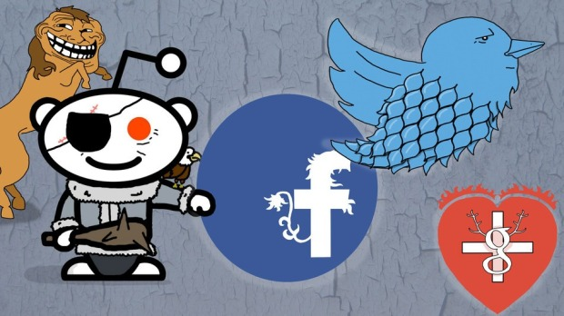 The Social Media Game of Thrones [INFOGRAPHIC]