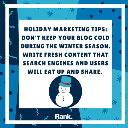 Holiday Marketing Tip #1