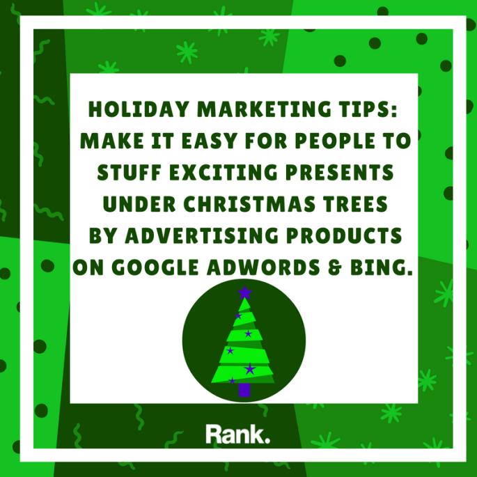 Holiday Marketing Tip #3