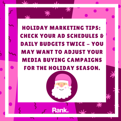 Holiday Marketing Tip #6