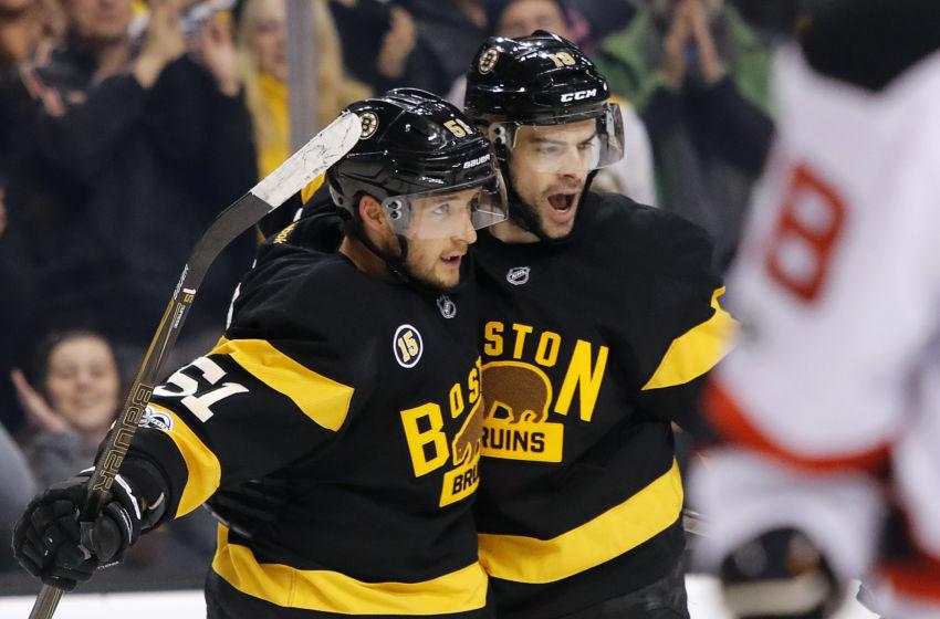 Boston Bruins Alternate Jersey - 2016