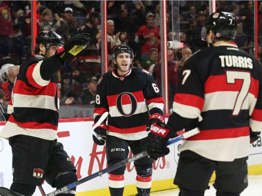 Ottawa Senators Alternate Jersey