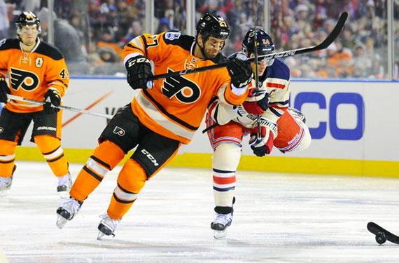 Philadelphia Flyers Alternate Jersey