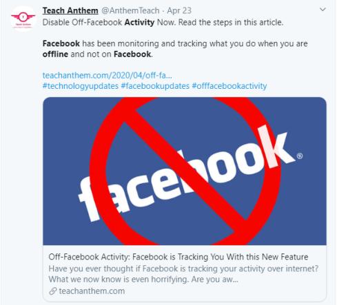 Facebook Offline Activity