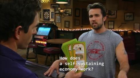 Self-sustaining economy